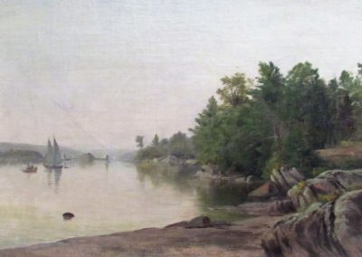 Quiet Morning on the Hudson, 1870