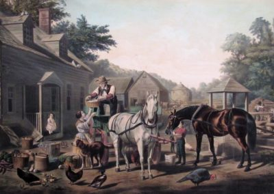 Preparing for Market, 1856