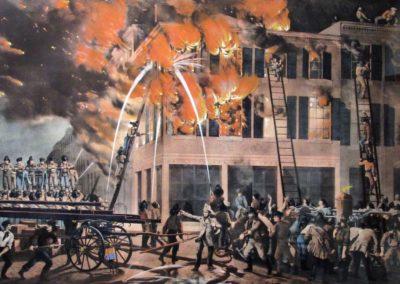 The Life of a Fireman, 1854