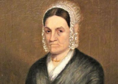 Portrait of Electa Sloan Butler, ca. 1830
