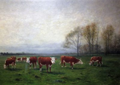 Landscape with Cattle, 1890
