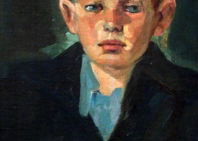 Portrait of a Boy, ca. 1918