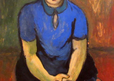 The Girl in Blue, ca. 1949